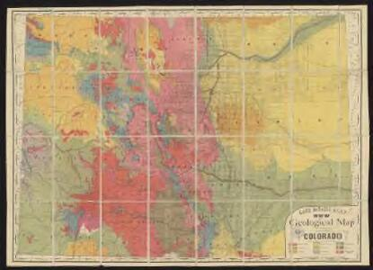 Rand McNally & Co.'s new geological map of Colorado