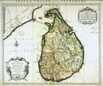 Carte de l'isle de Ceylan