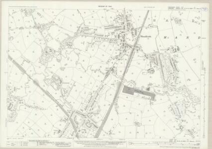 Lancashire CXIA.15 (includes: Wilmslow) - 25 Inch Map