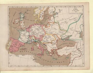 Europa zur Zeit Carls V. 1526