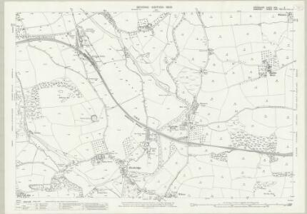 Devon XXIV.6 (includes: Brushford; Dulverton; Morebath) - 25 Inch Map
