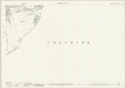 Flintshire XV.6 (includes: Chester; Claverton; East Saltney; Marlston Cum Lache) - 25 Inch Map