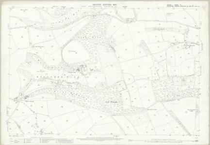 Dorset IV.11 (includes: Donhead St Mary; Semley; Shaftesbury) - 25 Inch Map