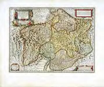 Alpinæ seu fœderatæ Rhaetiae subditarumque ei terrarum nova descriptio