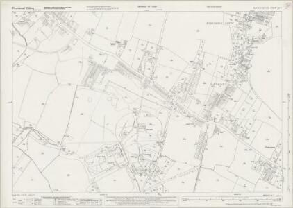 Buckinghamshire LVI.7 (includes: Datchet; Slough; Stoke Poges) - 25 Inch Map