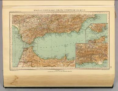 43. Spagna, Portogallo sud.