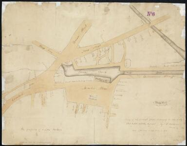 Copy of an ancient plan belonging to the City