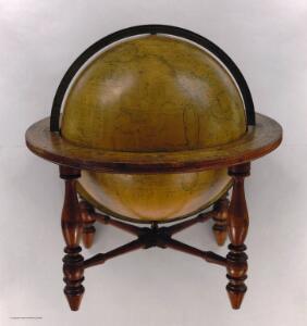 Wilson's New American Thirteen Inch Terrestrial Globe.
