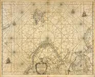 Pascaart van de zee-custen van Ruslant, Laplant, Finmarcken, Spitsbergen en Nova-zemla