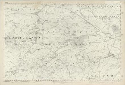 Yorkshire 167 - OS Six-Inch Map