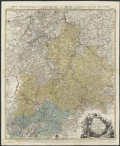 Le Landgraviat de Hesse-Cassel, meridional et septentr. avec une partie de Landgraviat de Hesse-Darmstat et de la Vetteravie avec autres dependences