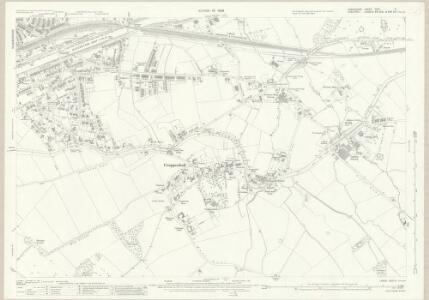 Lancashire CXVI.6 (includes: Appleton; Grappenhall; Stockton Heath; Warrington) - 25 Inch Map