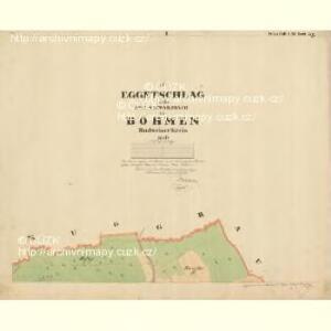 Eggetschlag - c0288-1-001 - Kaiserpflichtexemplar der Landkarten des stabilen Katasters