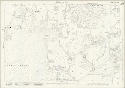 Surrey XXVI.5 (includes: Betchworth; Headley; Walton on The Hill) - 25 Inch Map