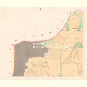 Schewietin - c7721-1-002 - Kaiserpflichtexemplar der Landkarten des stabilen Katasters