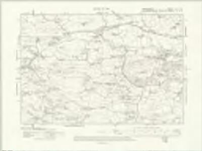 Denbighshire XLIII.SE - OS Six-Inch Map