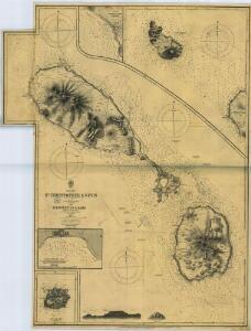 SAINT KITTS, Leeward Islands Island (1899).