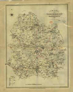 Harrogate[Map of the county ten miles round] (1832)