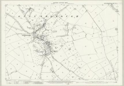 Northamptonshire XXX.10 (includes: Guilsborough; Hollowell; Ravensthorpe) - 25 Inch Map