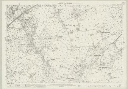 Cornwall LXIII.10 (includes: Camborne Redruth) - 25 Inch Map