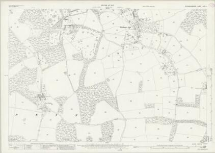 Buckinghamshire XLII.16 (includes: Amersham; Coleshill; Penn) - 25 Inch Map