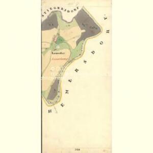 Suchenthal - c0647-2-010 - Kaiserpflichtexemplar der Landkarten des stabilen Katasters