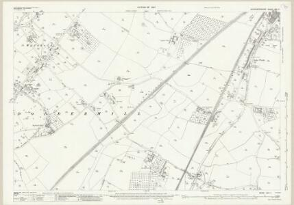 Worcestershire XXII.11 (includes: Dodderhill; Hanbury; Stoke Prior) - 25 Inch Map