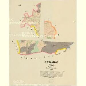 Makarow - c4354-1-001 - Kaiserpflichtexemplar der Landkarten des stabilen Katasters