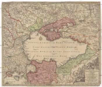 Nova et accurata Tartariae Europaeae seu minoris et in specie Crimeae delineatio geographica