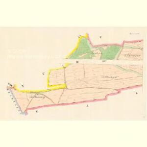 Tajanow - c7825-1-002 - Kaiserpflichtexemplar der Landkarten des stabilen Katasters