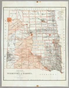 Territory Of Dakota.