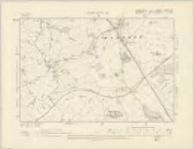 Shropshire IV.NW & SW - OS Six-Inch Map