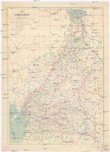 Carte du Cameroun