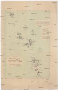Karte der Nikobarischen Inseln