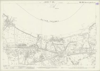 Kent IX.4 (includes: Stone; Swanscombe; Thurrock) - 25 Inch Map