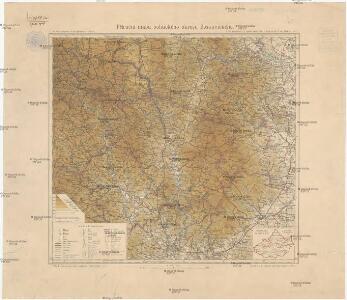 Příruční mapa politického okresu Boskovického