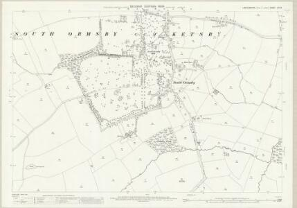 Lincolnshire LXV.15 (includes: Brinkhill; Calceby; Driby; South Ormesby cum Ketsby) - 25 Inch Map