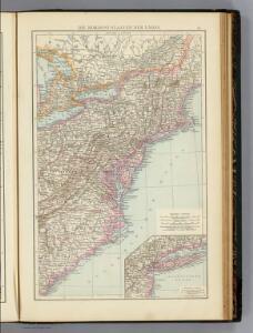 Nordost-Staaten der Union.