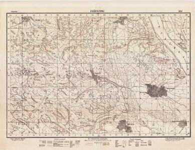 Lambert-Cholesky sheet 2342 (Dusanovac)