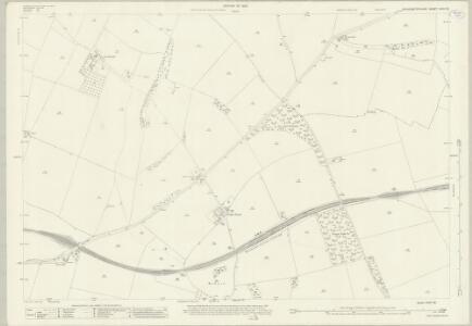 Gloucestershire XXVII.12 (includes: Haselton; Hawling; Sevenhampton; Shipton) - 25 Inch Map