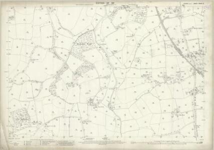 Sussex XXXVII.8 (includes: Ashurst; West Grinstead) - 25 Inch Map
