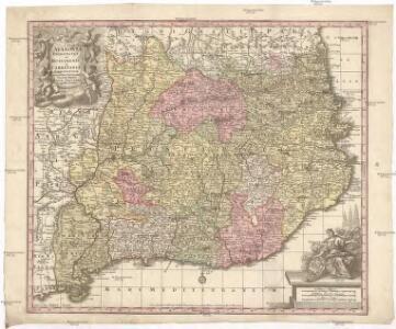 Cataloniae principatus et Ruscinonis ac Cerretaniae comitatuum exactißima delineatio
