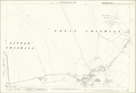Hertfordshire V.11 (includes: Barley; Great Chishill; Heydon; Little Chishill) - 25 Inch Map