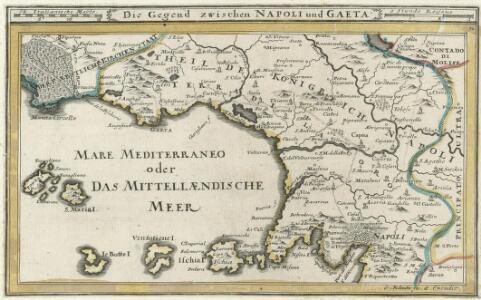 Die Gegend zwischen Napoli und Gaeta.