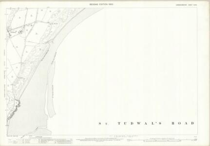 Caernarvonshire XLV.6 (includes: Llanengan) - 25 Inch Map