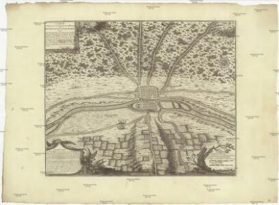 Lutece conquise par les François sur les Romains ou Second plan de la ville de Paris