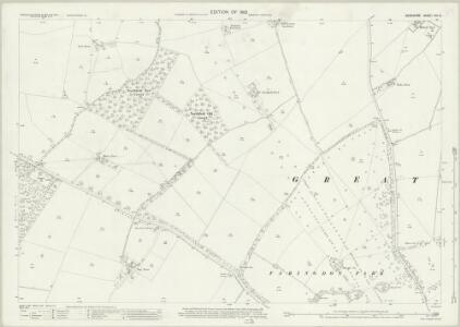 Berkshire VIII.5 (includes: Eaton Hastings; Great Faringdon) - 25 Inch Map