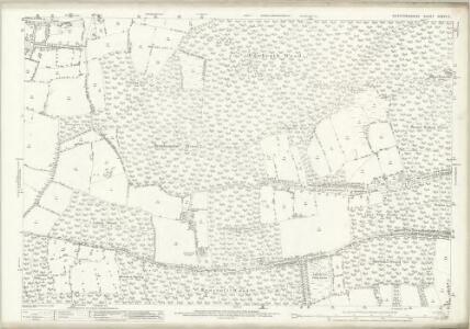 Hertfordshire XXXVI.11 (includes: Bayford; Bishops Hatfield; Brickendon Liberty) - 25 Inch Map