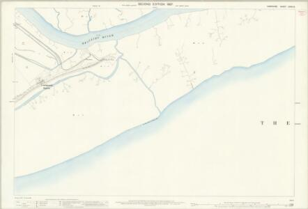 Hampshire and Isle of Wight LXXXI.15 (includes: Beaulieu; Exbury) - 25 Inch Map