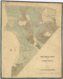 Porostní mapa revíru Rudolfův les